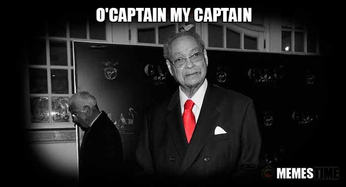 Memes Time… da bola que rola e faz rir - Mário Wilson, o Capitão do Futebol Português, faleceu quando se preparava para completar 87 anos - O'Captain My Captain
