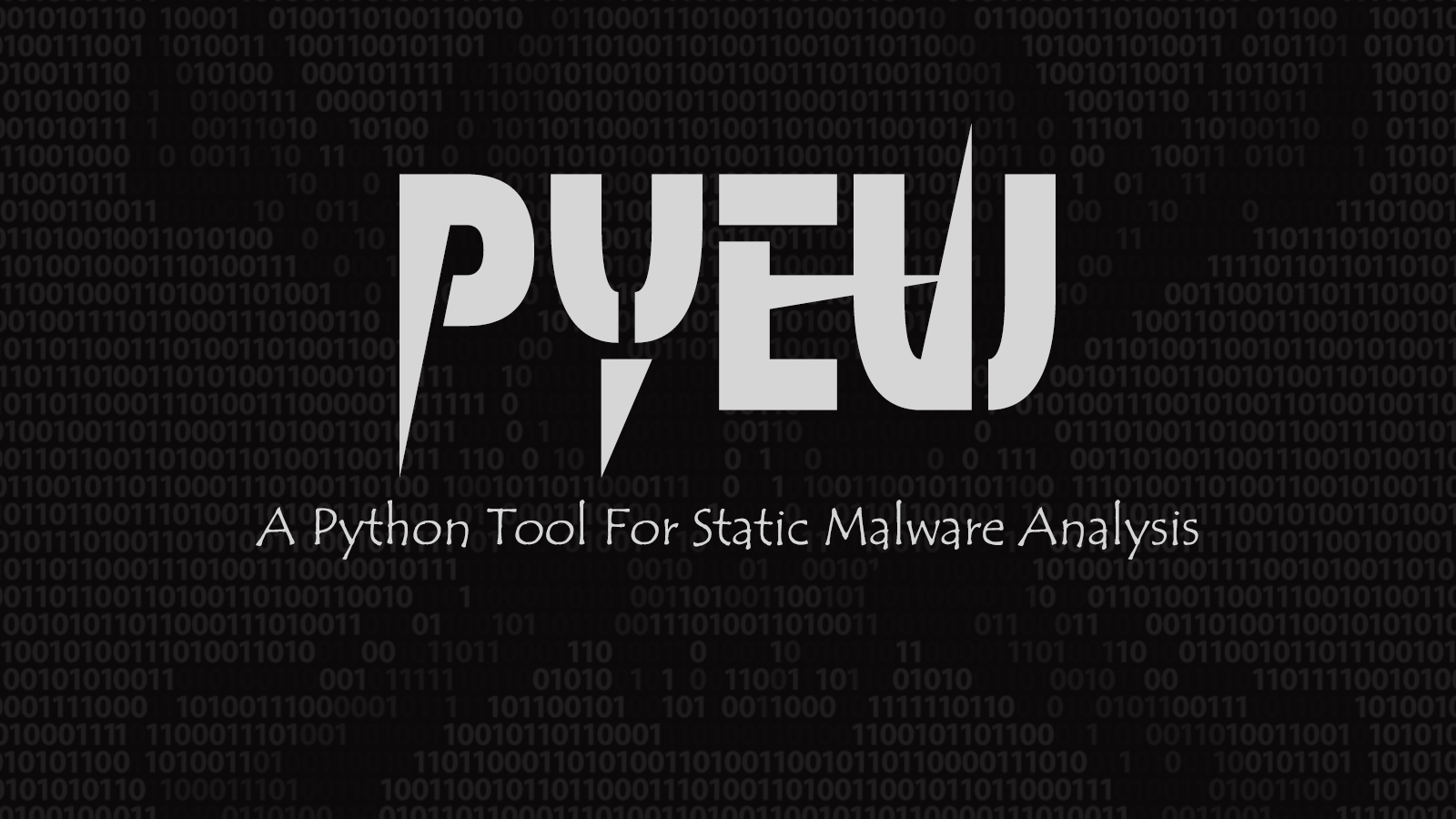 Pyew - A Python Tool For Static Malware Analysis