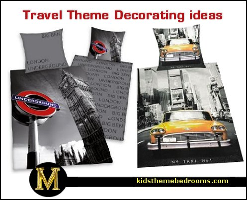 Decorating theme bedrooms maries manor bedroom theme for City themed bedroom accessories