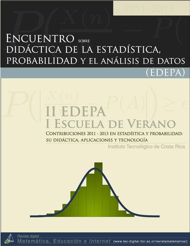 Encuentro sobre didáctica de la estadística, la probabilidad y el análisis de datos (EDEPA)