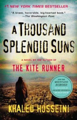 A Thousand Splendid Suns by Khaled Hosseini - book cover