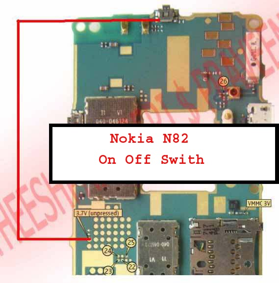 cellfirmware: Nokia N82 On Off Switch Button Problem Ways Jumpers Track Solution