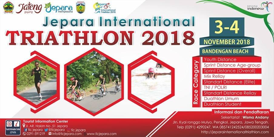 Jepara International Triathlon • 2018