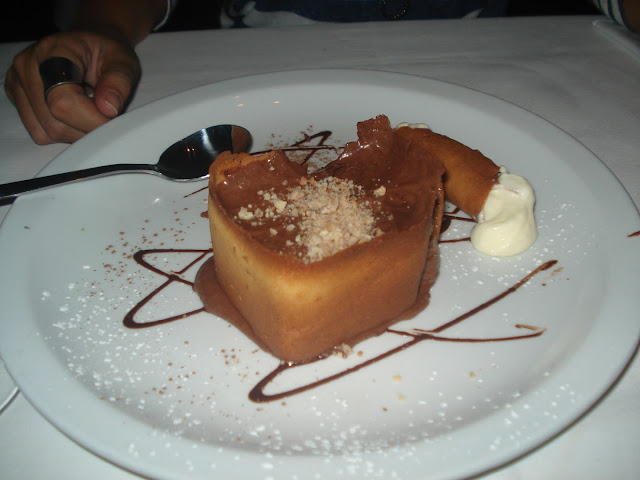 Mousse de chocolate. La Parolaccia. Puerto Madero