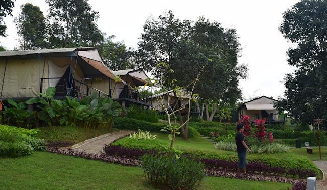 Glamour Camping di trizara Resort