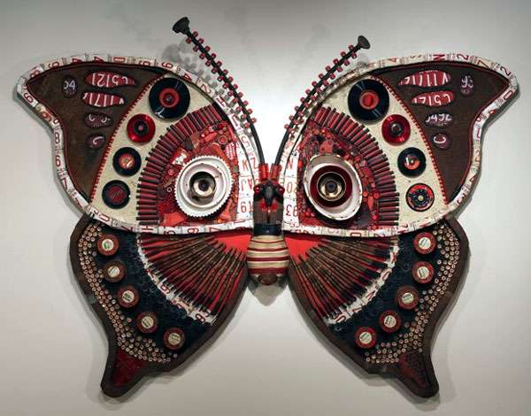 the art of up cycling metal wall art inventive recycle. Black Bedroom Furniture Sets. Home Design Ideas