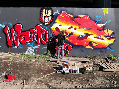 Street art et graffiti a Charleroi