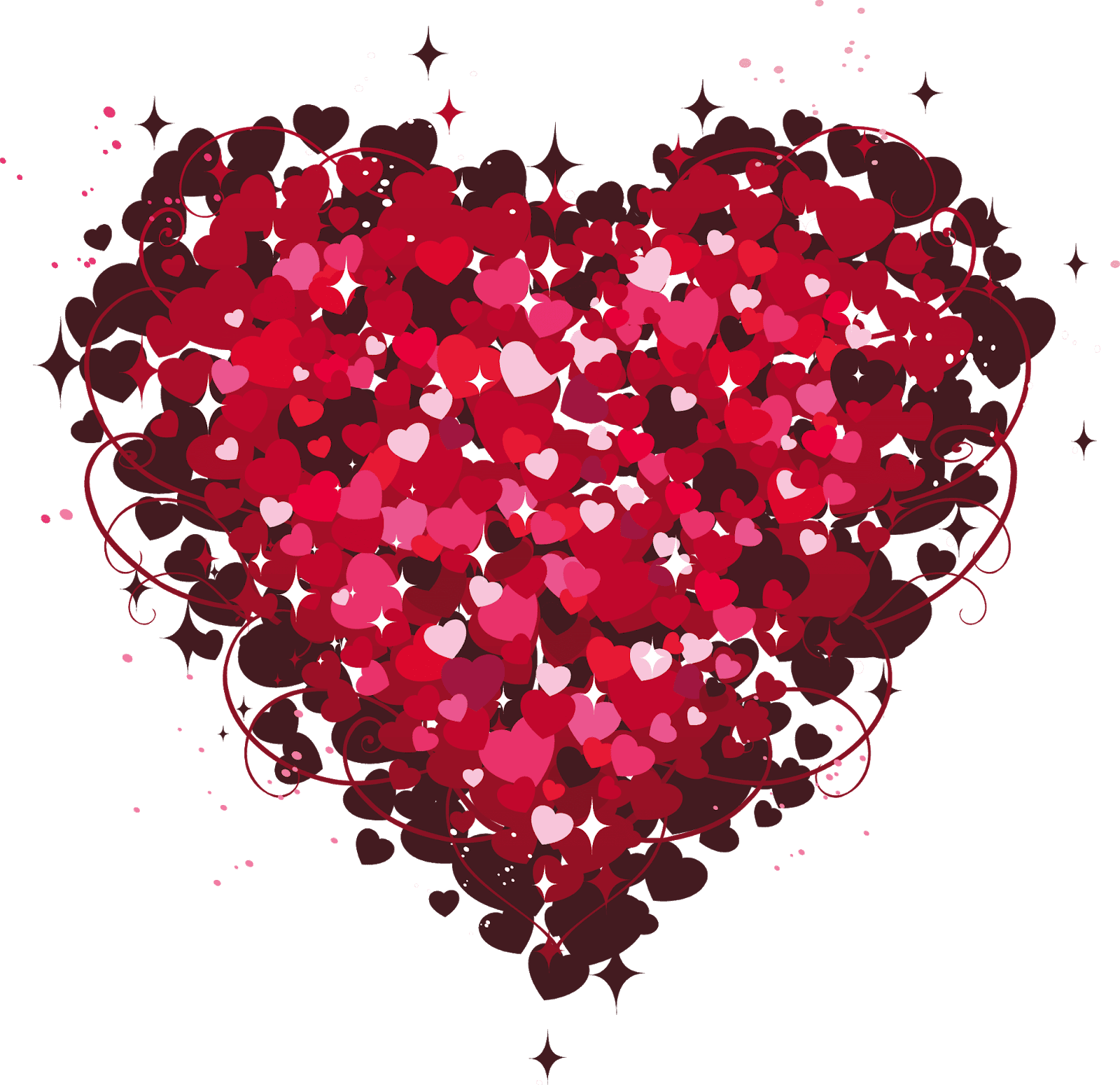 PNG Sector: Love Png Stickers - Heart PNG image and Clipart