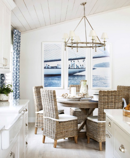 Rattan Dining Room Chairs Nautical