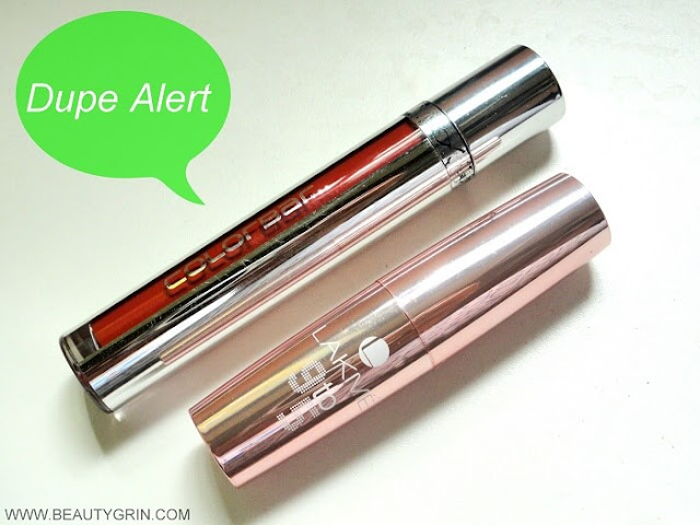 Dupe Alert : Colorbar Kiss Proof Stain Liquid Lipstick in Rustic