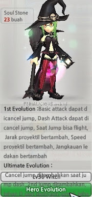 Witch Evolution Lost Saga Indonesia