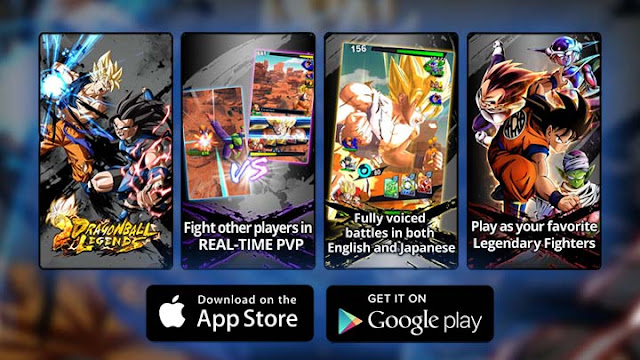 Dragon Ball Legends for Android and iOS