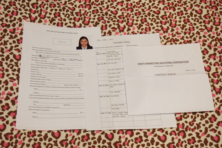 How to apply for japan visa tourist for filipinos in the how to apply for japan visa tourist for filipinos in the philippines tips the beauty junkee spiritdancerdesigns Images
