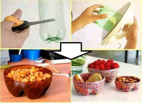 Ideas para reutilizar botellas de plÁstico : decoración del hogar ...