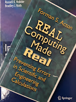 Real Computing Made Real, by Forman Acton, superimposed on Intermediate Physics for Medicine and Biology.