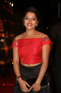 Actress Navya Stills Gemini TV Puraskaralu 2016 Event  0017.JPG