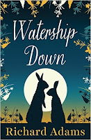 Watership Down by Richard Adams book cover