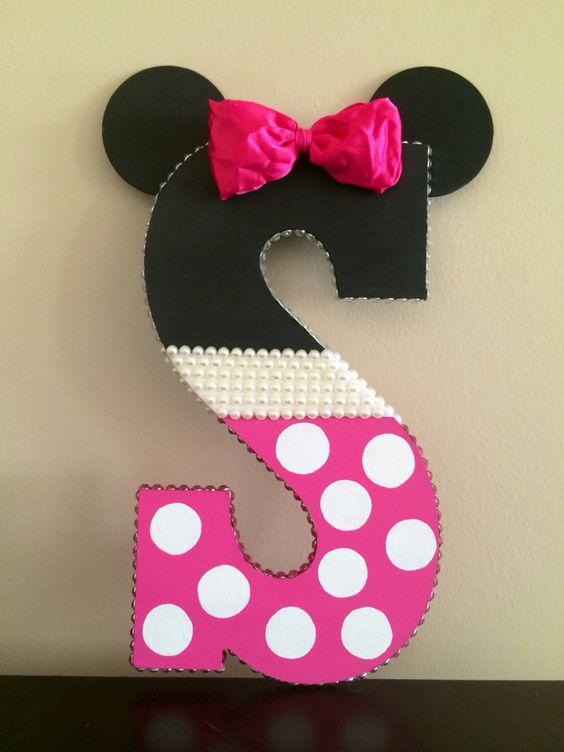 12 ideas de c mo decorar letras y n meros para cumplea os - Letras bebe decoracion ...