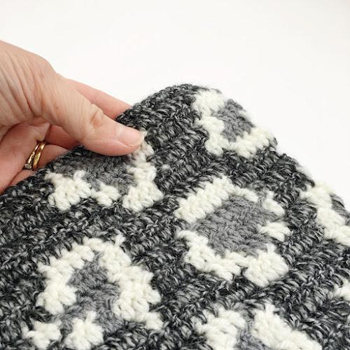 Leopard Print Tapestry Crochet Afghan Square Free Pattern Lottie
