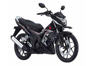 Honda Sonic 150R hitam