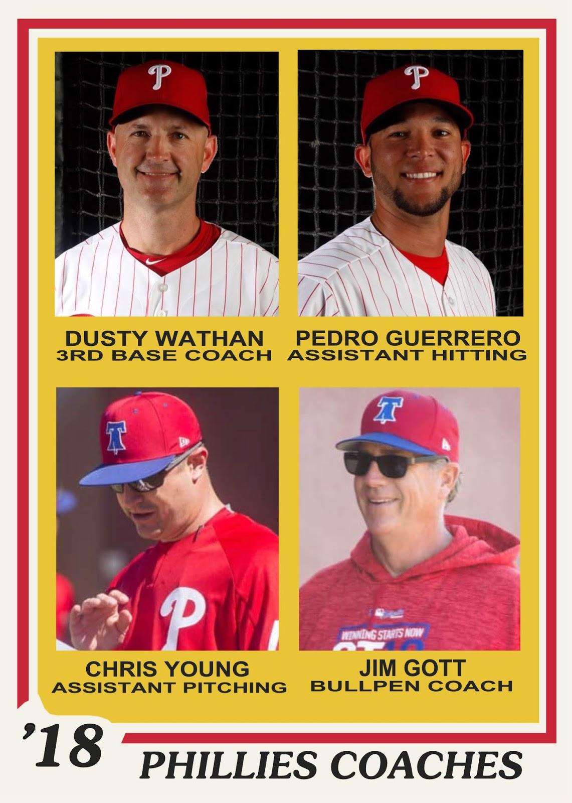 Phillies third base coach