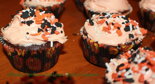 how to make halloween chocolate mayo cupcakes