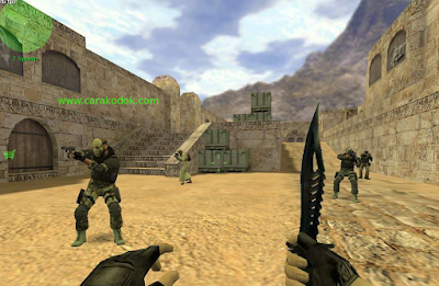 Counter Strike bertempur