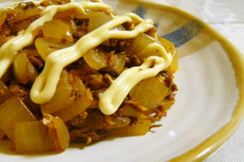鯖缶と玉葱のピリ辛炒め☆ by nasubeam [クックパッド] 簡単おいしいみんなのレシピが154万品