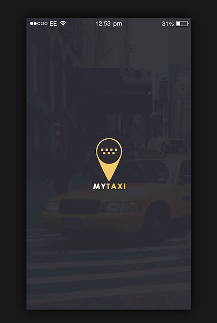 Taxi App Splash Screen