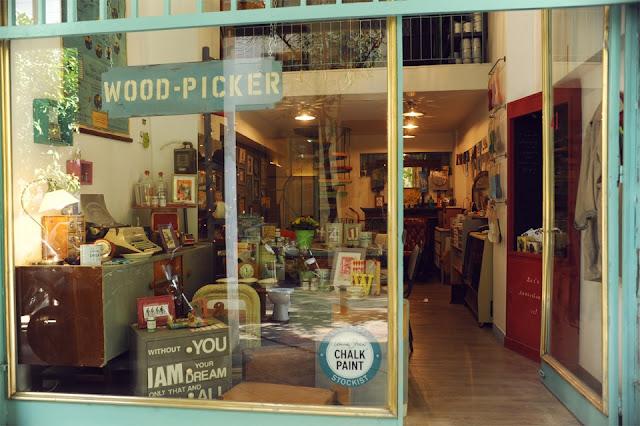 Woodpicker: Έλσα Κοππάση 3 Annie Sloan Greece