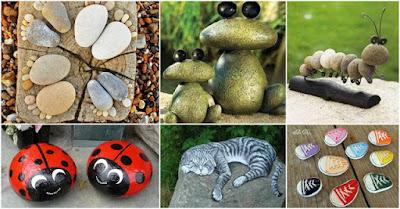 ideas-adornos-piedras-de-río