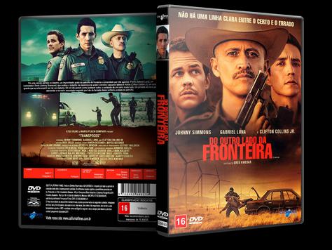 Capa DVD Do Outro Lado da Fronteira [Exclusiva]