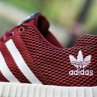 Sepatu Sport Adidas Yeezy Boost Merah [AYB-007]