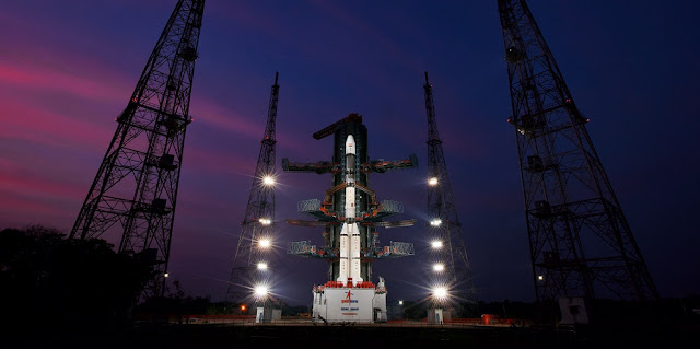 GSLV-F11 mission on the launch pad. Credit: ISRO