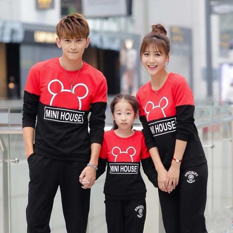 Jual Online Family Sweater Mini Murah Jakarta Bahan Babytery Terbaru