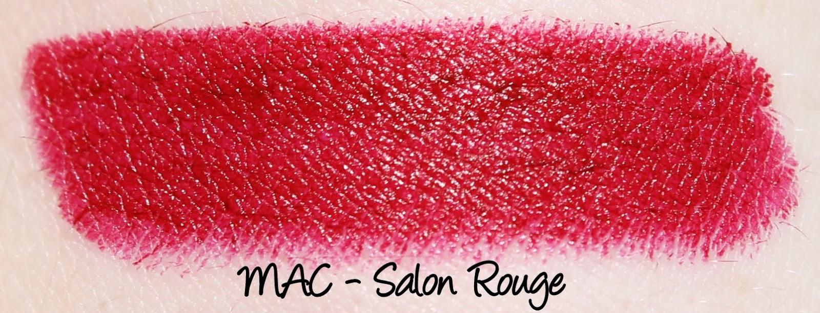 MAC Heirloom Mix Lipsticks - Salon Rouge Swatches & Review