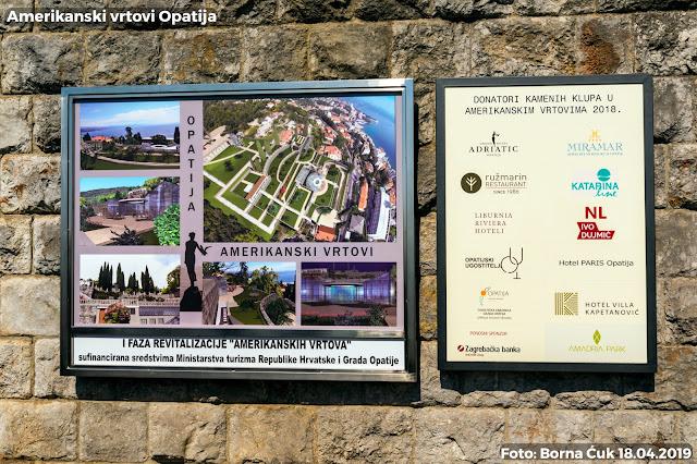 U Opatiji otvoreni obnovljeni Amerikanski vrtovi 18.04.2019