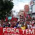 Cerca de mil pessoas participam de protesto em Iguatu contra reforma trabalhista e da Previdência