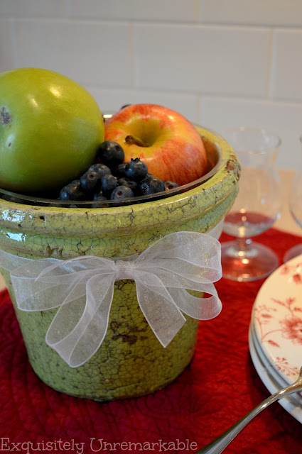 Make A DIY Flower Pot Fruit Bowl