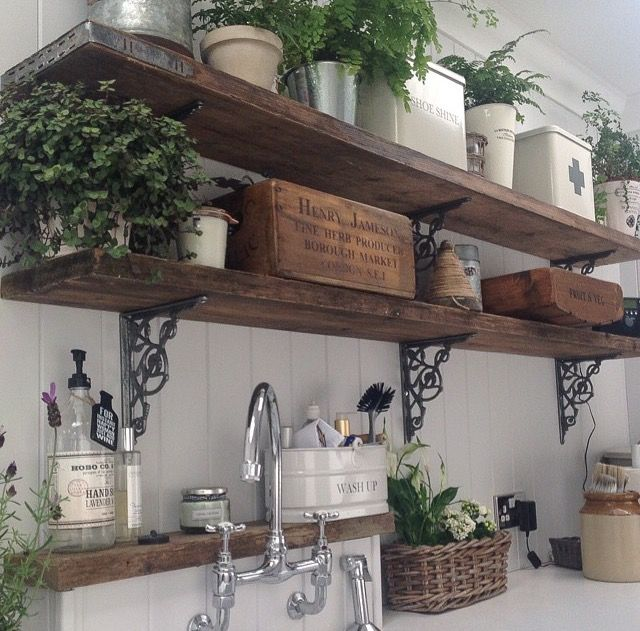 Kitchen Shelf Inspiration: 30 Inspiration Kitchen Narrow Shelves & Racks