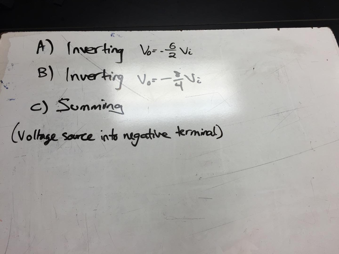 Engineering 44 Hynassman 4 8 16 Day 14 Cascaded Op Amp Circuits Types Of In This Example We Simply Determined The Type Circuit Amps Boxes A And B Were Inverting One Box