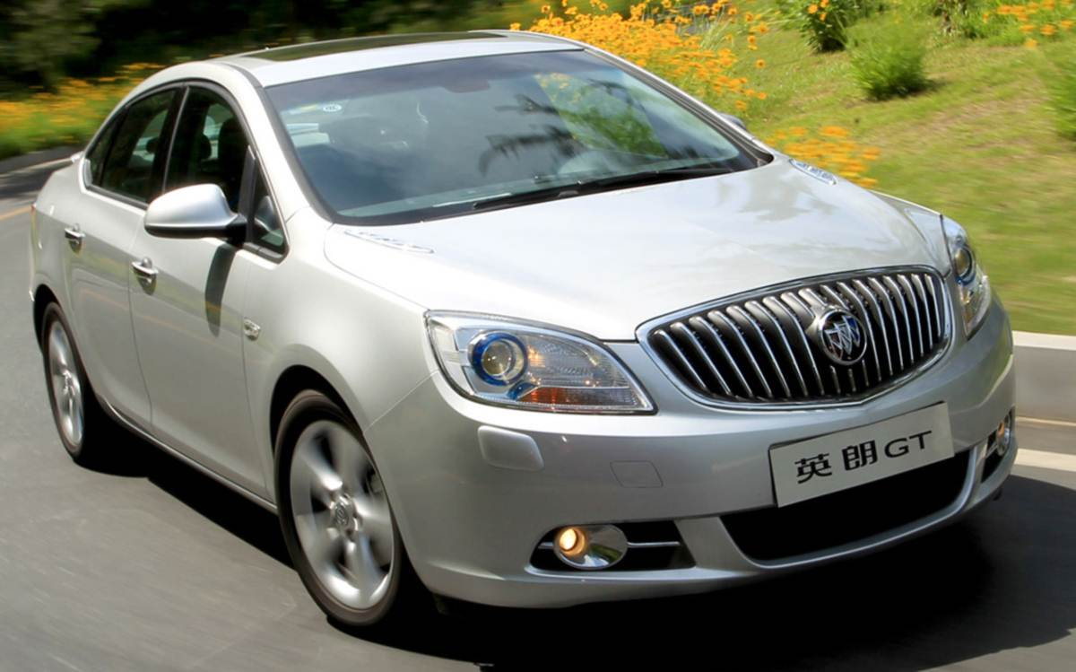 Buick Excelle 2014 - China