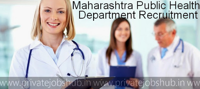 Maharashtra Public Health Department Recruitment