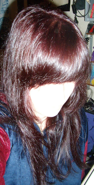 garnier color sensation rojo en negro