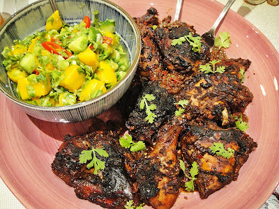Maryam's Culinary Wonders: 816. Jamaican Jerk Chicken with ...