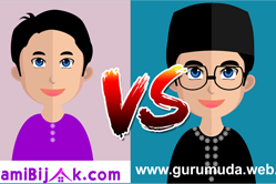 SUAMI BIJAK vs GURU MUDA