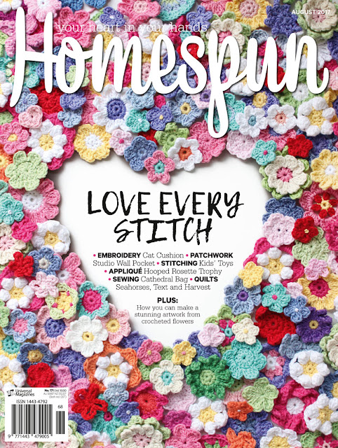 My Sewing Space // Homespun Magazine Feature