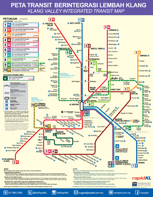 Lrt Ktm Map Kl