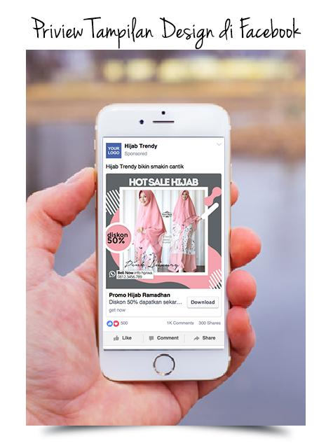 Template Design Iklan Bisnis Online Banner Sosmed | order ...
