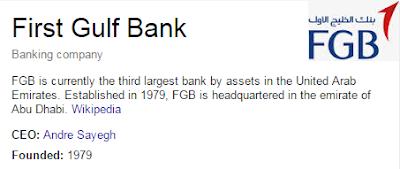 first gulf bank customer care logo